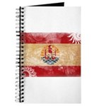 French Polynesia Flag Journal