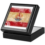 French Polynesia Flag Keepsake Box