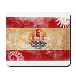 French Polynesia Flag Mousepad