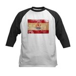 French Polynesia Flag Kids Baseball Jersey
