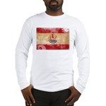 French Polynesia Flag Long Sleeve T-Shirt