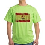 French Polynesia Flag Green T-Shirt