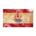 French Polynesia Flag 38.5 x 24.5 Wall Peel