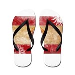 French Polynesia Flag Flip Flops