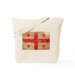 Georgia Flag Tote Bag