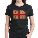 Georgia Flag Women's Dark T-Shirt