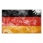 Germany Flag Sticker (Rectangle 50 pk)