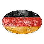 Germany Flag Sticker (Oval 50 pk)
