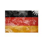 Germany Flag Rectangle Magnet (100 pack)