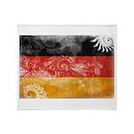 Germany Flag Throw Blanket