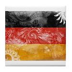 Germany Flag Tile Coaster