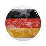 Germany Flag Ornament (Round)