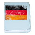 Germany Flag baby blanket