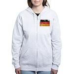 Germany Flag Women's Zip Hoodie