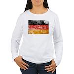 Germany Flag Women's Long Sleeve T-Shirt