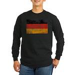 Germany Flag Long Sleeve Dark T-Shirt