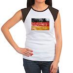 Germany Flag Women's Cap Sleeve T-Shirt