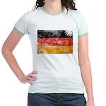 Germany Flag Jr. Ringer T-Shirt