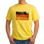 Germany Flag Yellow T-Shirt