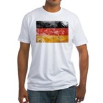 Germany Flag Fitted T-Shirt