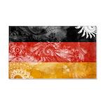 Germany Flag 22x14 Wall Peel
