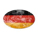 Germany Flag 38.5 x 24.5 Oval Wall Peel