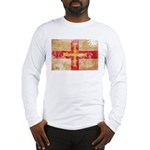 Guernsey Flag Long Sleeve T-Shirt