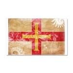 Guernsey Flag Car Magnet 20 x 12