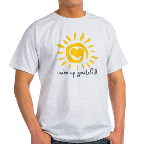 Wake Up Grateful Light T-Shirt