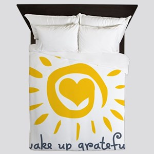 Wake Up Grateful Queen Duvet