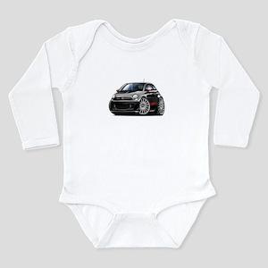 Abarth Black Car Long Sleeve Infant Bodysuit