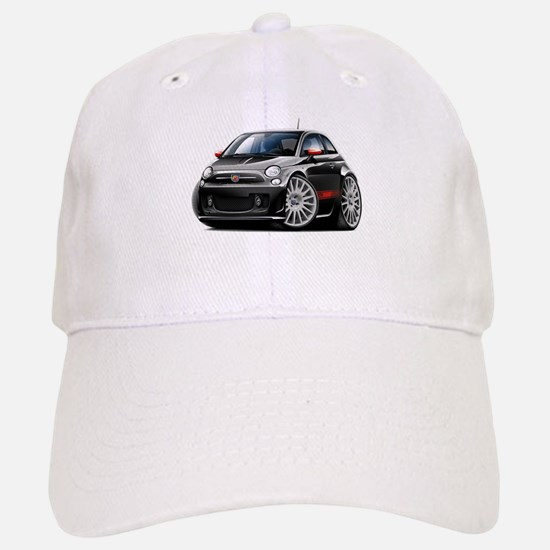 Abarth Black Car Baseball Baseball Cap
