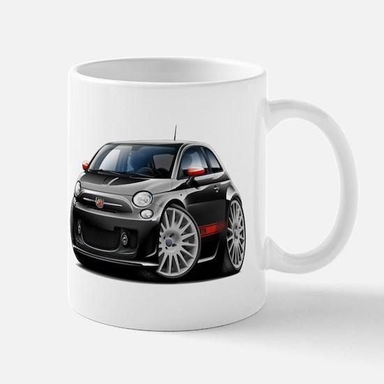 Abarth Black Car Mug
