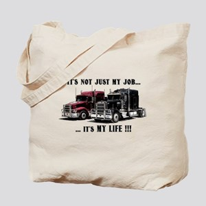 Trucker - it's my life Tote Bag