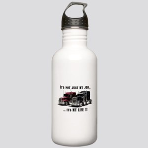 Trucker - it's my life Stainless Water Bottle 1.0L
