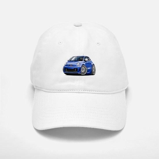 Abarth Blue Car Baseball Baseball Cap