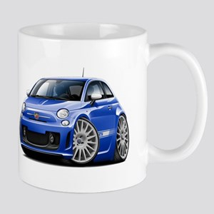 Abarth Blue Car Mug