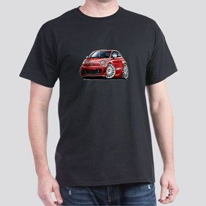 Abarth Red Car Dark T-Shirt