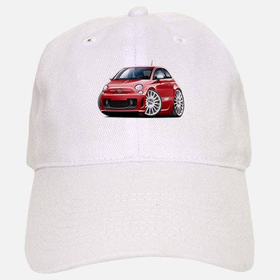 Abarth Red Car Baseball Baseball Cap