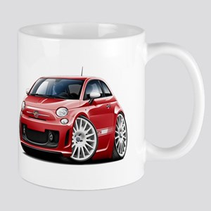 Abarth Red Car Mug