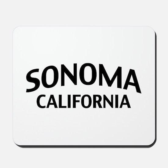 Sonoma California Mousepad