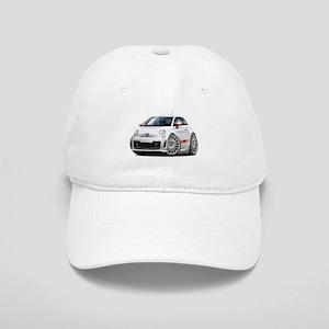 Abarth White Car Cap