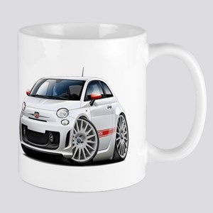 Abarth White Car Mug