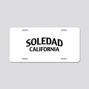 Soledad California Aluminum License Plate