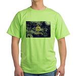 Kansas Flag Green T-Shirt