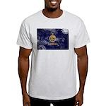 Kansas Flag Light T-Shirt