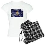 Kansas Flag Women's Light Pajamas