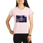 Kansas Flag Performance Dry T-Shirt
