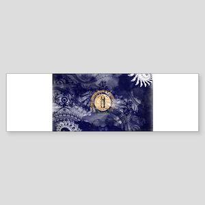 Kentucky Flag Sticker (Bumper)