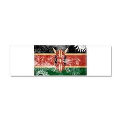 Kenya Flag Car Magnet 10 x 3